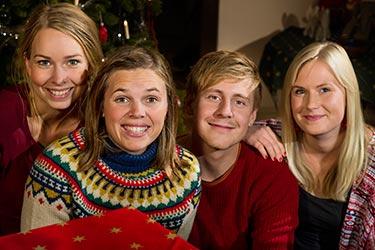 Hanna, Linda, Staffan och Eva
